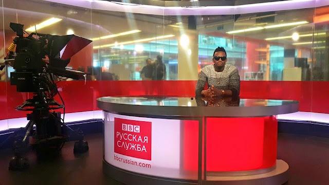 Hot News Diamond Platnumz Visiting Bbc Swahili In London