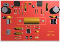 TDA2030 Amplifier complete Subwoofer Filter 4558 PCB