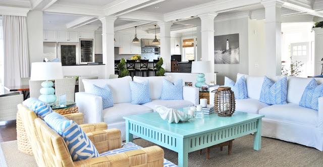 mavi-beyaz-dekorasyon