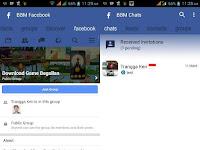 BBM Tema Facebook FBUI Apk | Download BBM MOD Versi Terbaru v3.1.0.13