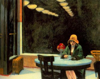 At the Automat Café...