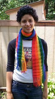 is using scarves gay