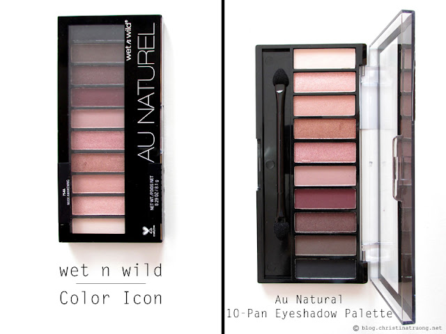 wet n wild 2017 collection Color Icon Au Natural 10-Pan Eyeshadow Palette