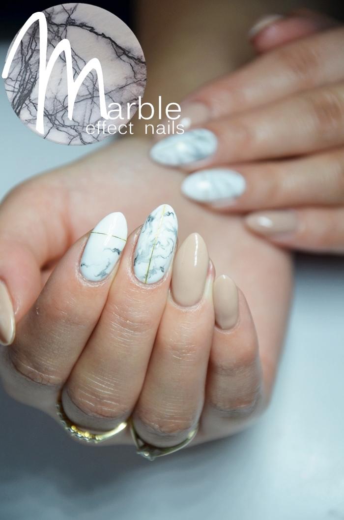 Beauty Blog Marmurkowe Paznokcie Nc Nails Company Lakiery Hybrydowe