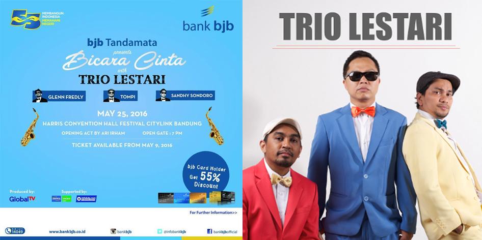 Trio Lestari Bank BJB Mei 2016