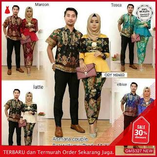 GMS327 BTKSM328B63 Batik Couple Keluarga Arabella Family Dropship SK1369167379