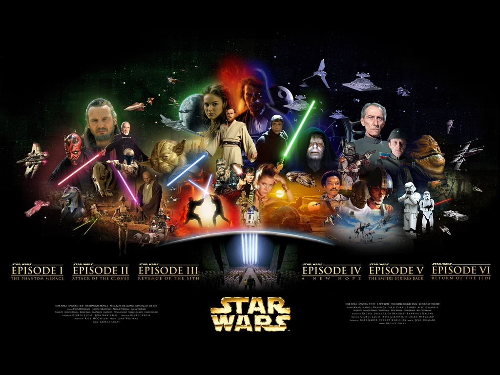 Fascinating Fixation Films My Ranking For The Star Wars Hexalogy