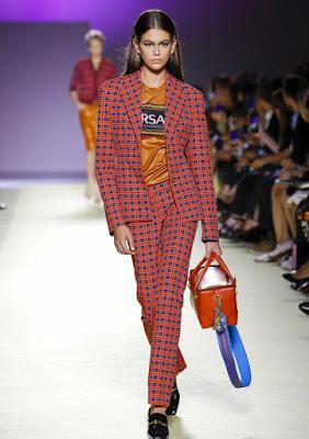 Kaia Gerber - Versace Milan Fashion Week SS2019 Show