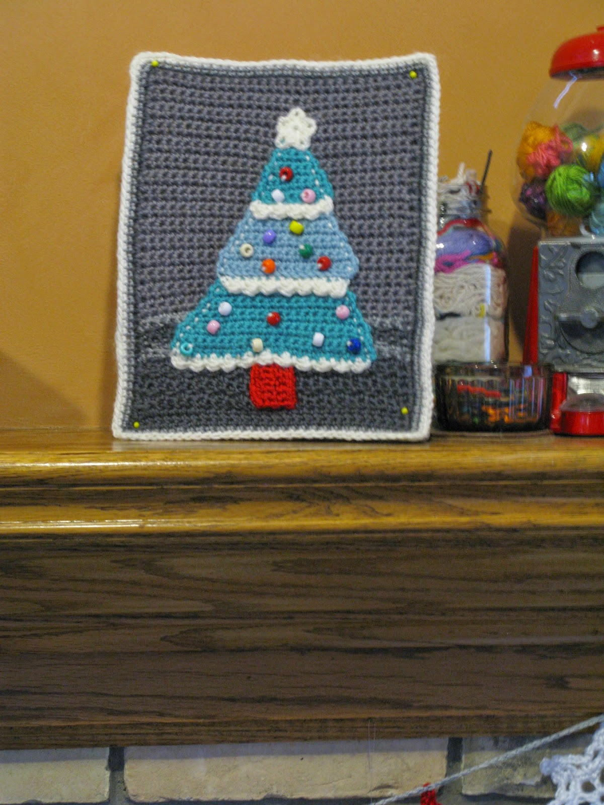 Crochet Christmas Chair Covers Pier One Chairs Dining Meo My Card