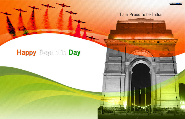 Republic Day thank you Whatsapp Status DP Images
