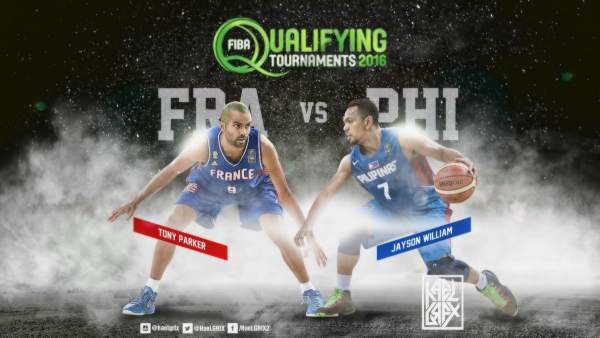 #FIBAOQT: Gilas Pilipinas vs. France by HaeL Pinat