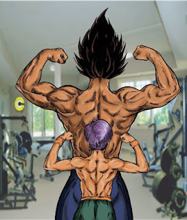Father And Son Work Out #Vegeta #Trunks | Dragonball Z
