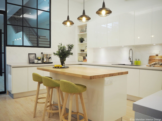 Modern Scandinavian Kitchen by Meridian Interior Design