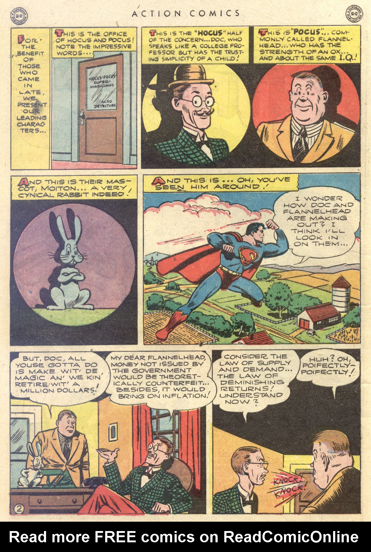 Read online Action Comics (1938) comic -  Issue #88 - 4