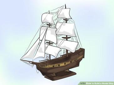 Cara Membuat MIniatur Kapal Layar