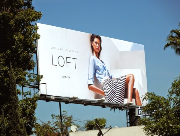 Loft Spring 2014 fashion billboard