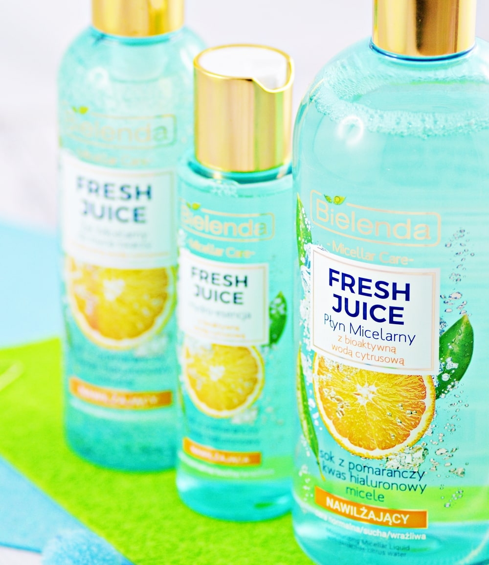 bielenda fresh juice linia z pomarańczą