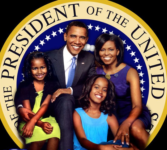 Obama Entertainment: Barack Obama Family