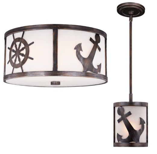 Nautical Ceiling Lamps Hanging Light Pendants