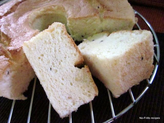 Tofu chiffon cake