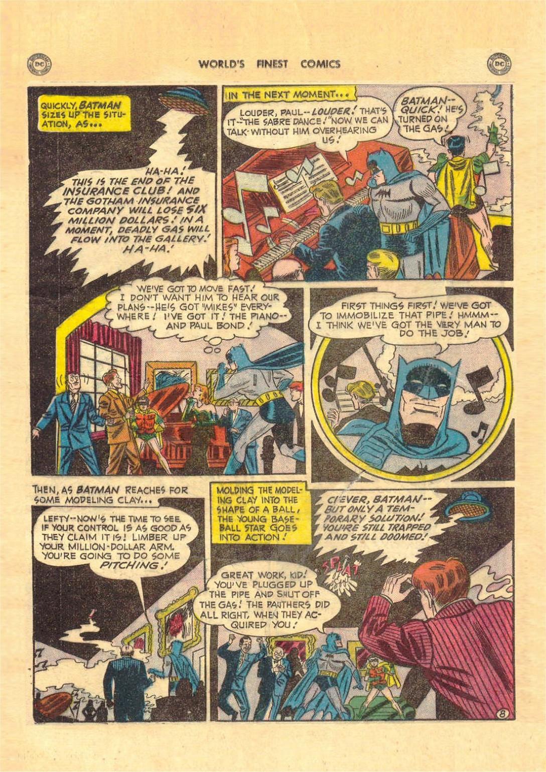 Read online World's Finest Comics comic -  Issue #52 - 70