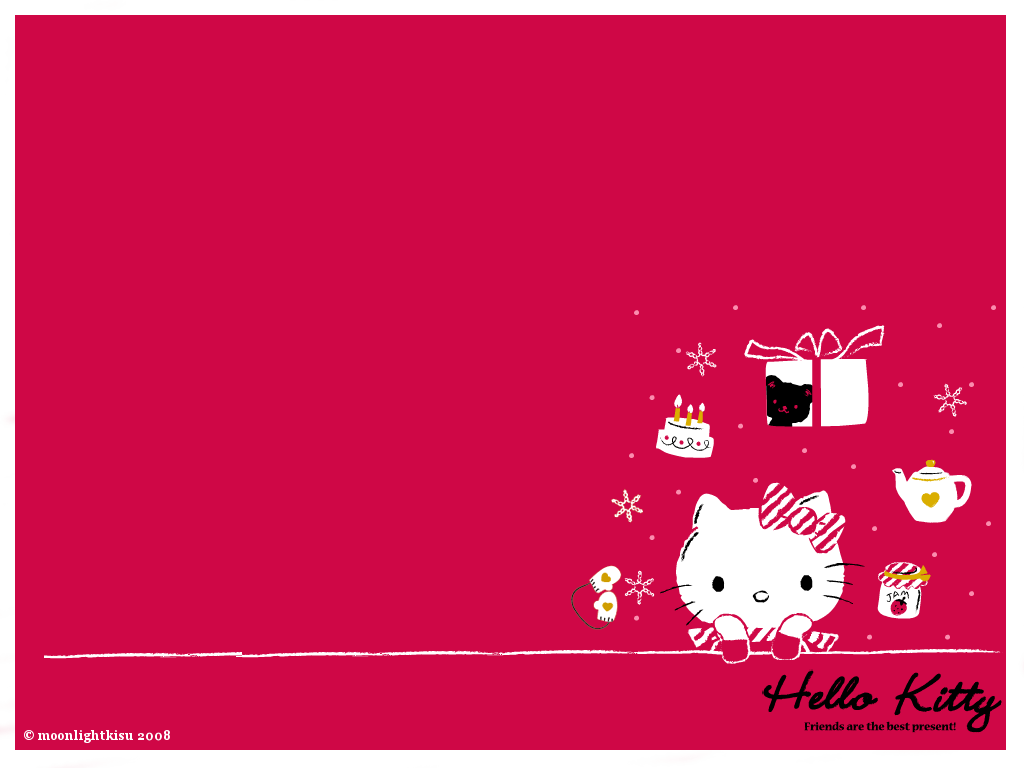Hello Kitty Loft Hello Kitty Christmas Wallpaper
