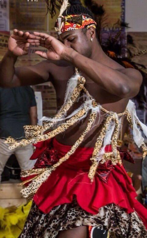 Ranny Le Joy dança samba reggae