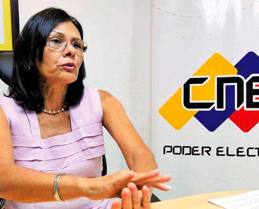 Socorro Hernández: Marcha opositora no acelerará revocatorio