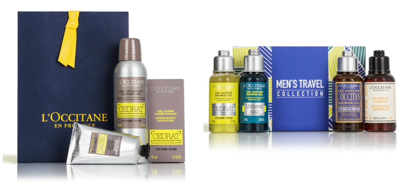 l'occitane summer gift set guide for all budgets men's gift sets cedar shaving duo travel collection