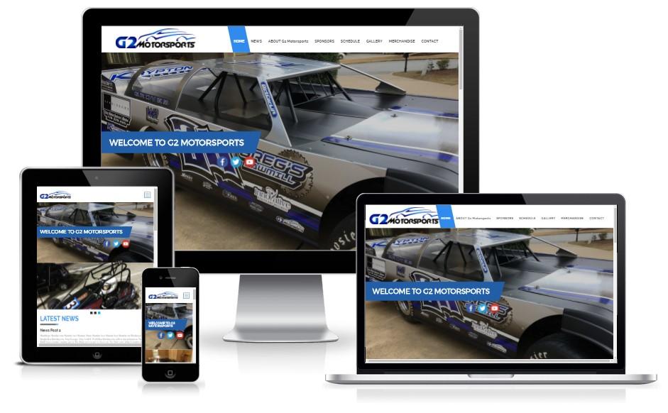 G2Motorsports - Racing Team | WordPress