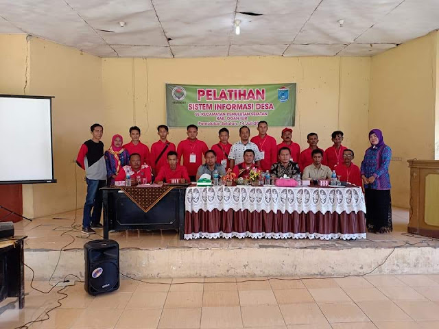 Operator Desa Se Kecamatan Pemulutan Selatan Ikuti Pelatihan