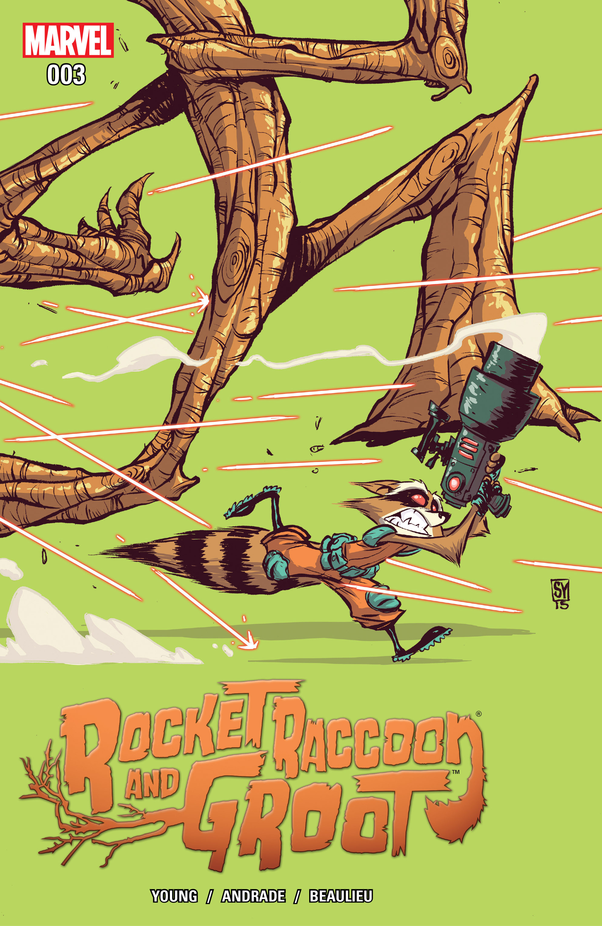 Rocket Raccoon & Groot #3 - Read Rocket Raccoon & Groot