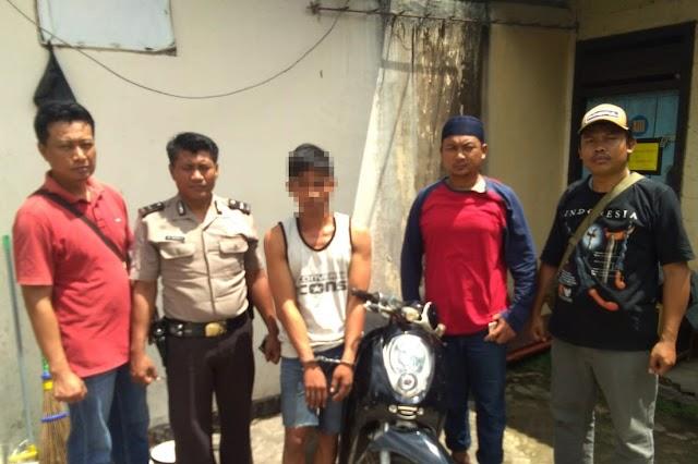 Pelaku Spesialis Curanmor 8 TKP Ditulang Bawang Ditangkap Polisi