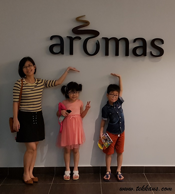 Coffee & Desserts At Aromas-The Highest Coffee Club In Melaka