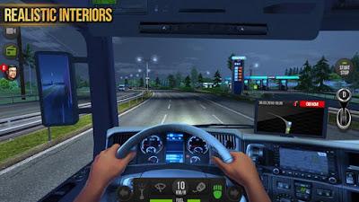 Truck Simulator 2018 Europe MOD APK v1.0.8 for Android Terbaru 2018 Gratis - JemberSantri