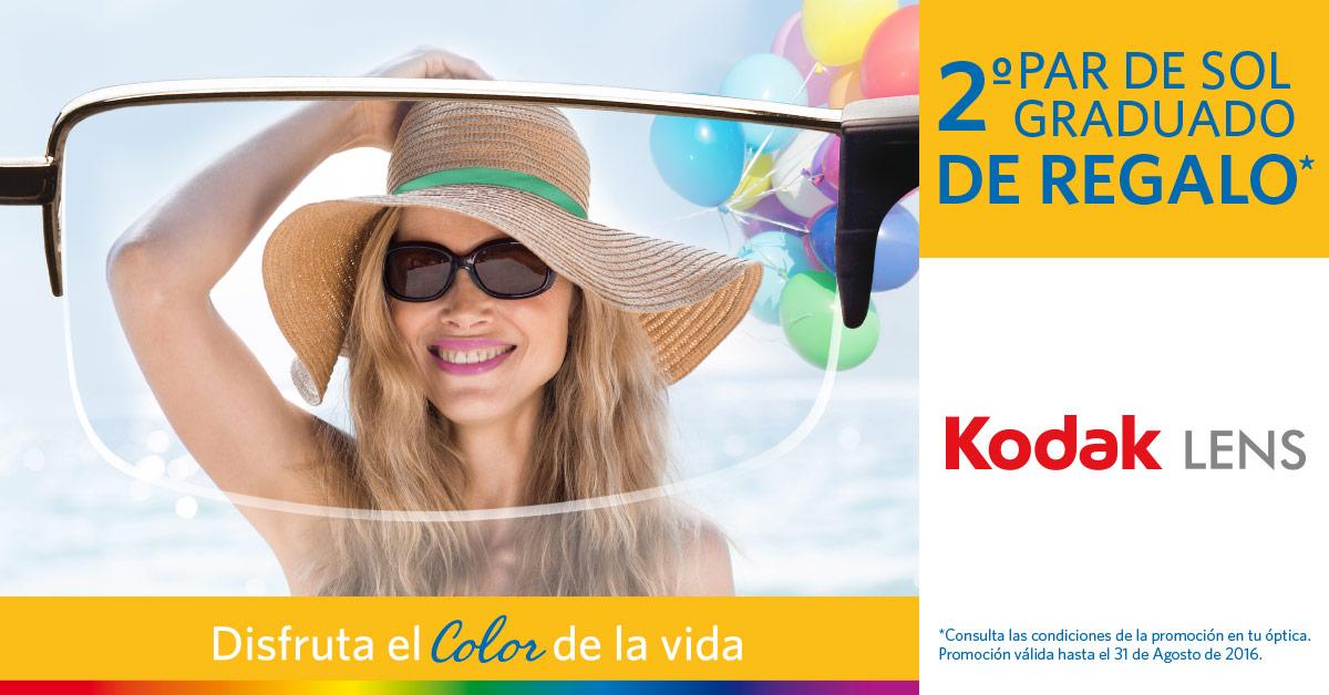 2c861ab45 Optica Ruiz Vicar: 2º par de sol graduado de regalo KODAK LENS