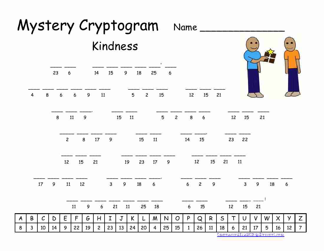 Empowered By Them Kindness Cryptogram