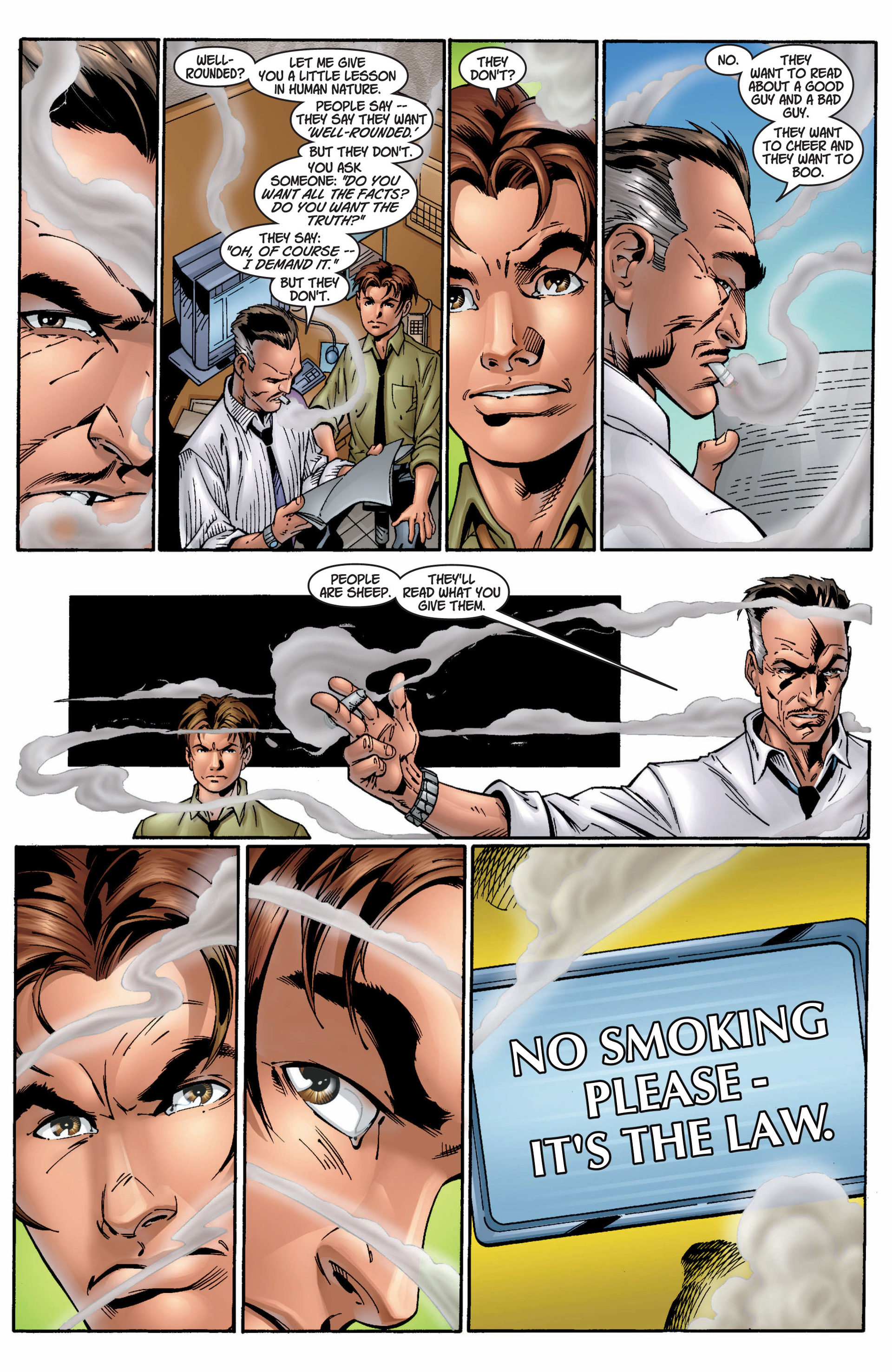 Read online Ultimate Spider-Man (2000) comic -  Issue #9 - 18
