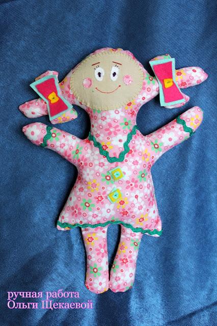 кукла, для малышей, игрушка своими руками