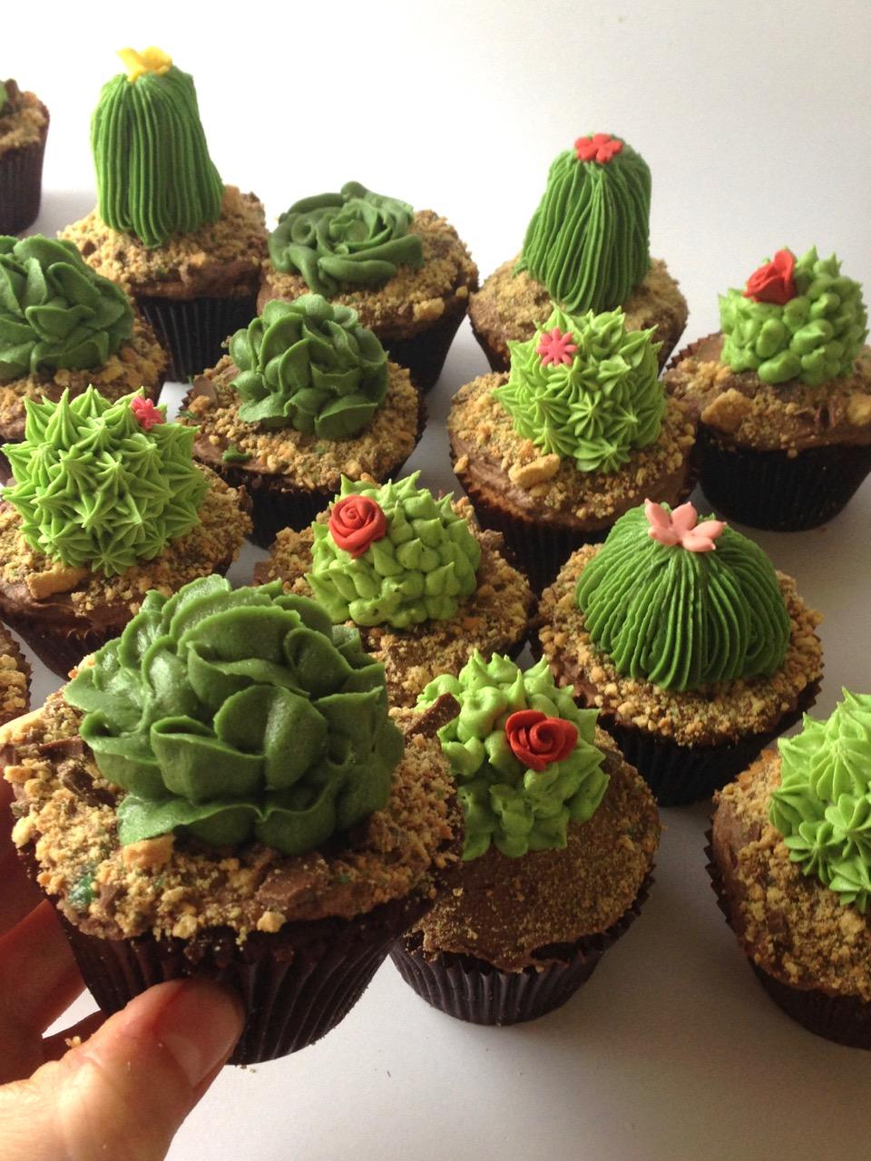Rozanne S Cakes Coolest Cactus Cupcakes