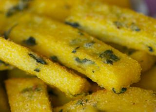 Herb Polenta Fries