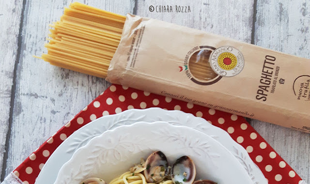 Spaghetti vongole e zenzero