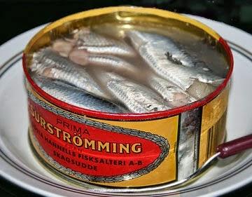 Surstromming di Swedia