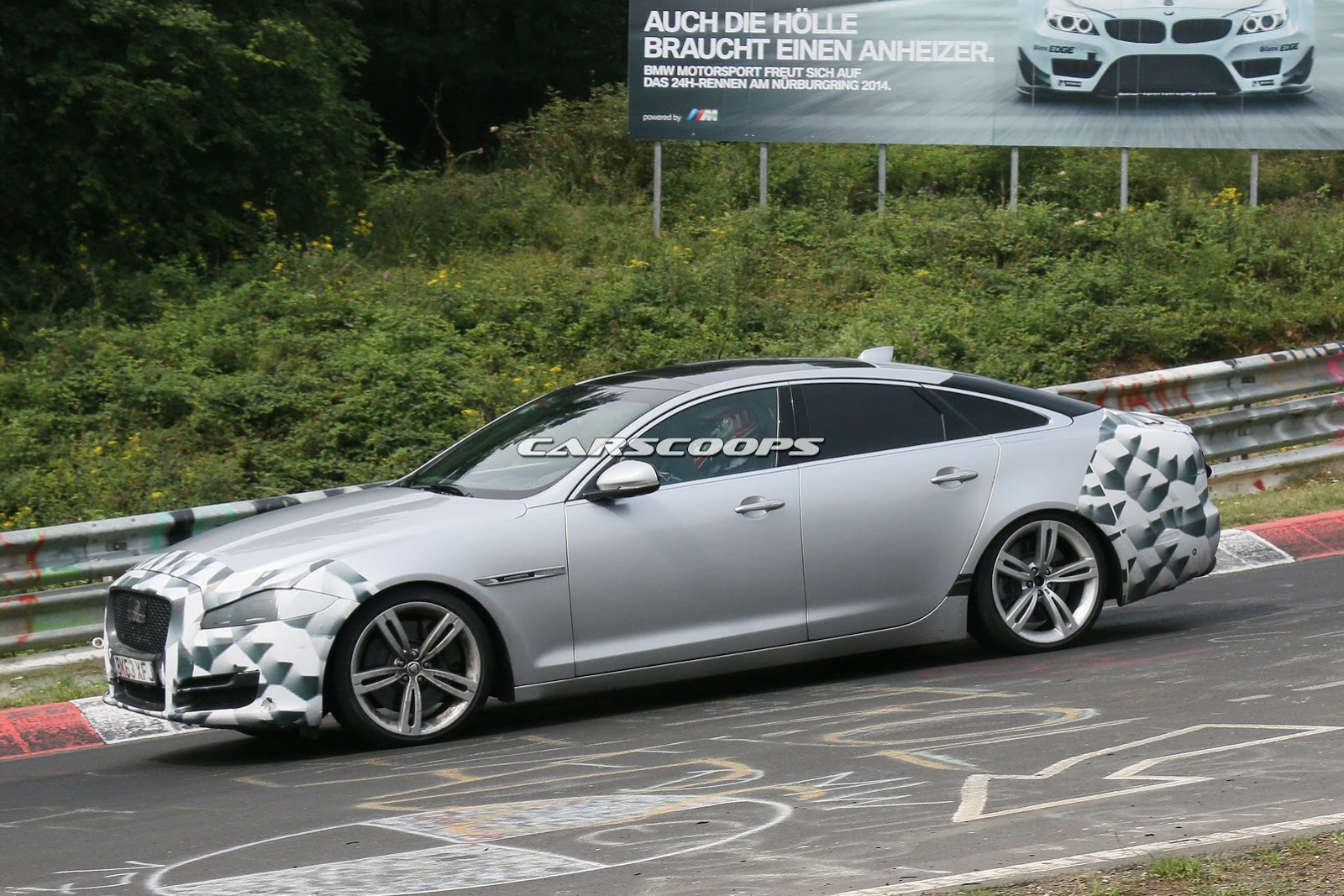 Mercedes North Haven >> Scoop: 2015 Jaguar XJ has a Brush with Dr. Facelift
