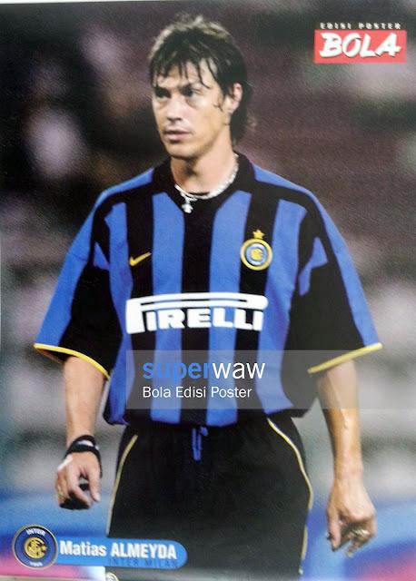Poster Matias Almeyda (Inter Milan)