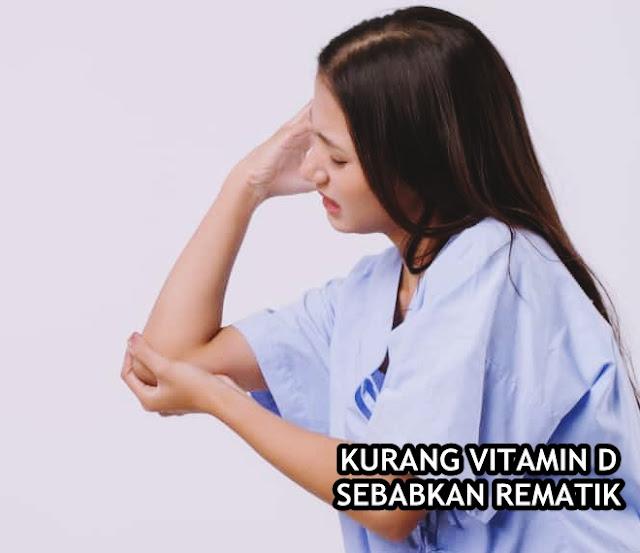 Gawat.! Kurangnya Vitamin D Sebabkan Rematik