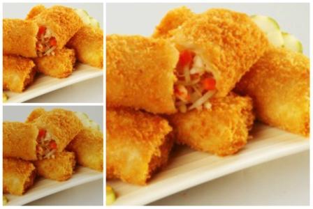 Resep komplit risoles isi sayuran enak