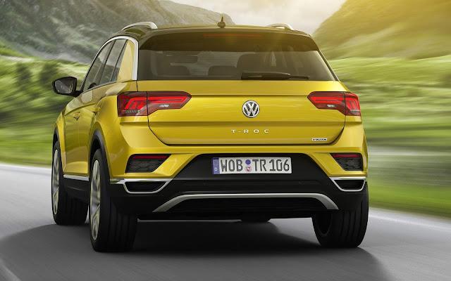 VW T-ROC - Golf SUV