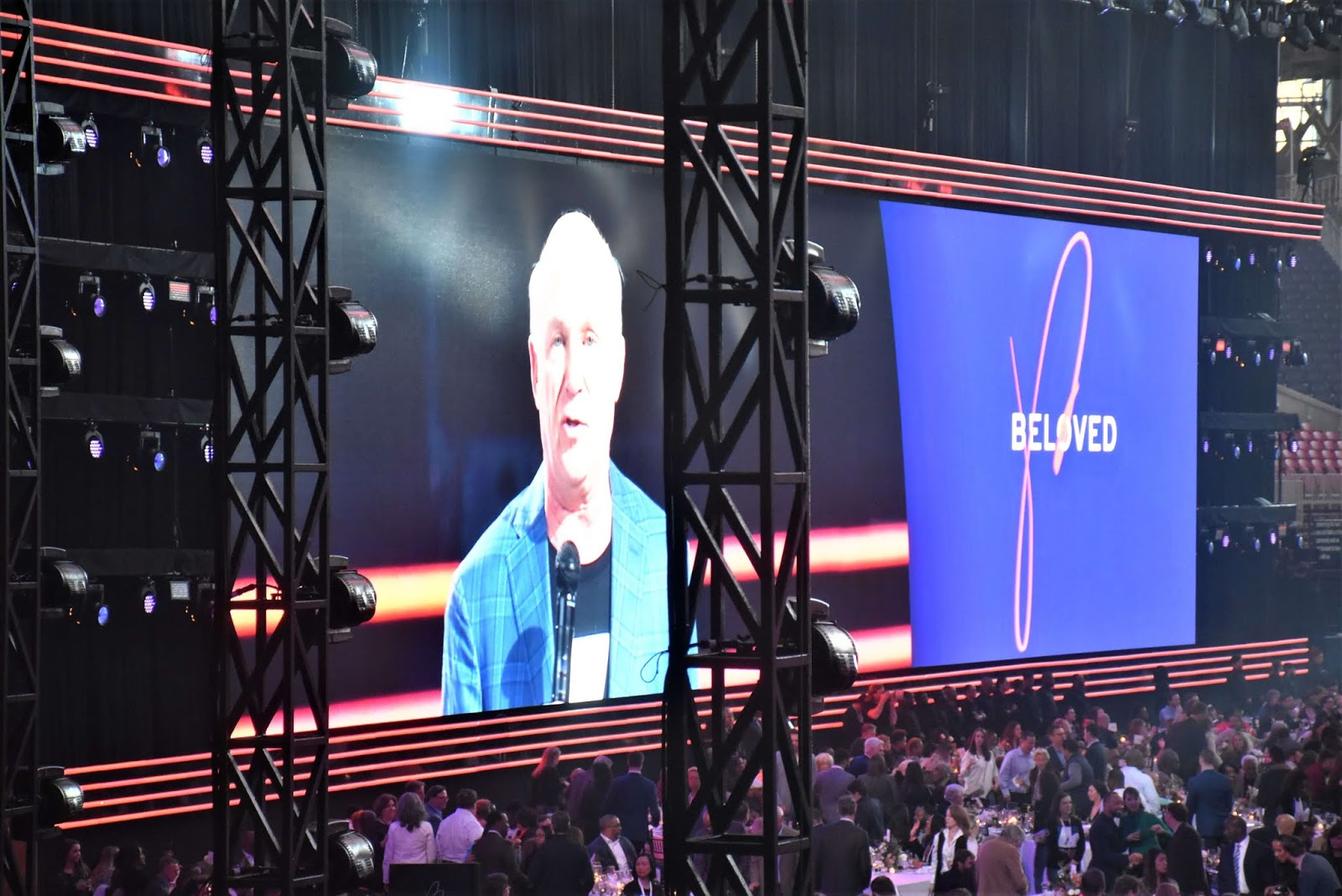 Beloved Benefit at Mercedes Benz Stadium with Dan Cathy