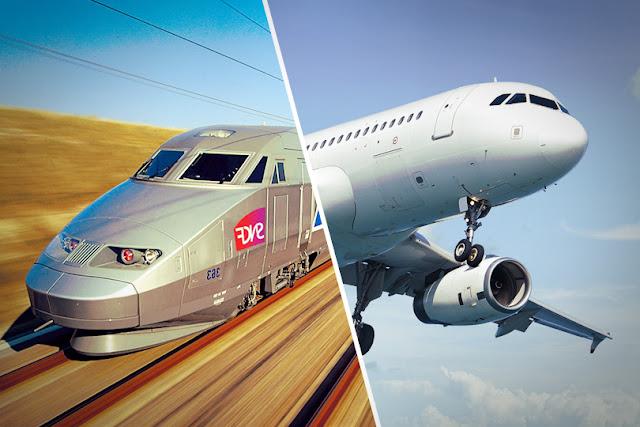 TGV AIR train + avion service SNCF